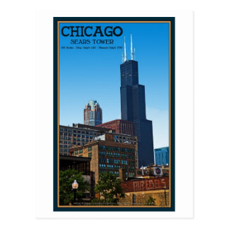 Chicago - Sears Tower Post Cards
