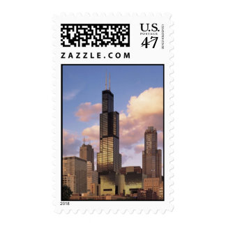 Chicago Sears Tower Postage