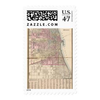 Chicago Sello Postal