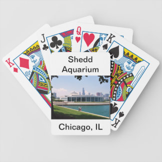 Chicago Shedd Aquarium collection Bicycle Playing Cards