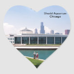 Chicago Shedd Aquarium collection Heart Stickers