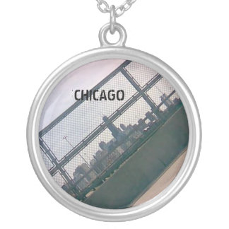 Chicago Side silver necklace