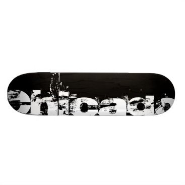 USA Themed Chicago Skateboard Deck