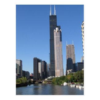 Chicago Skline Postcard