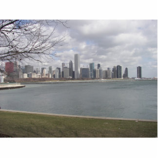 Chicago Sky Line Acrylic Cut Outs