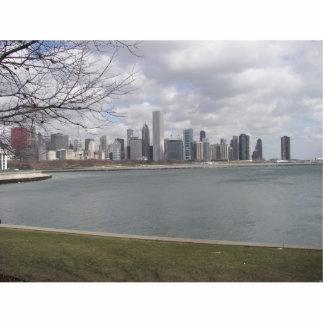 Chicago Sky Line Statuette
