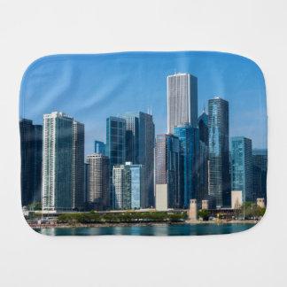 Chicago Skycrapers Paños De Bebé