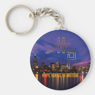 chicago_skyline5, HYPE HOUSE IN MOTION Key Chain
