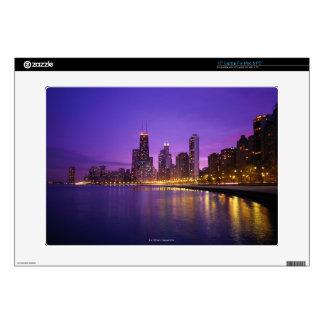 """Chicago Skyline 15"""" Laptop Skin"""