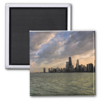 Chicago Skyline 2 Refrigerator Magnet