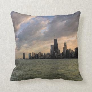 Chicago Skyline 2 Throw Pillow