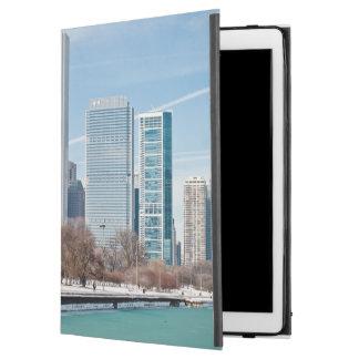 Chicago skyline across frozen Lake Michigan iPad Pro Case