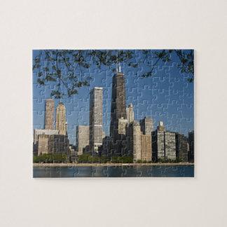 Chicago skyline and Lake Michigan, Lake Shore Puzzle