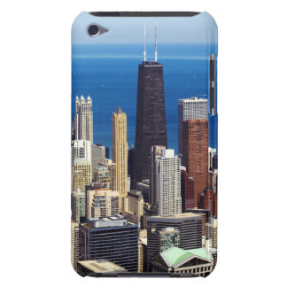 Chicago Skyline and landmarks Barely There iPod Case