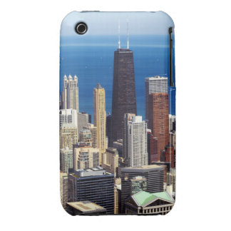 Chicago Skyline and landmarks iPhone 3 Cover