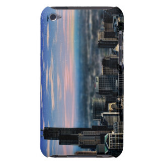 Chicago Skyline at Dusk Barely There iPod Cases