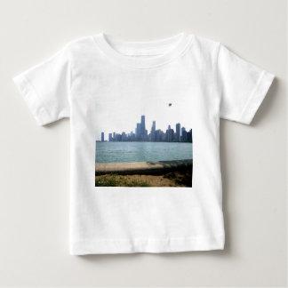 Chicago Skyline Baby T-Shirt
