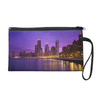 Chicago Skyline Wristlet Clutches