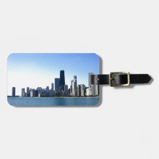 Chicago Skyline Bag Tags