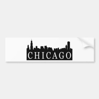 Chicago Skyline Bumper Sticker