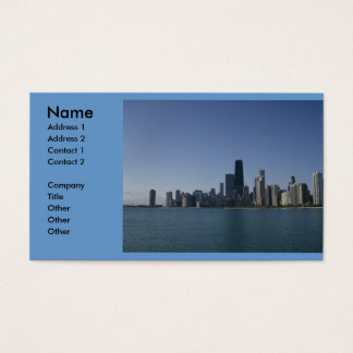 Chicago Skyline Business Cards & Templates