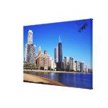 Chicago Skyline. Canvas Print