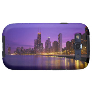 Chicago Skyline Samsung Galaxy S3 Covers