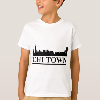 Chicago Skyline Chi Town T-Shirt