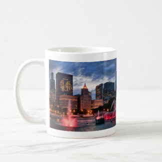 Chicago Skyline Coffee Cup Classic White Coffee Mug