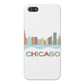 Chicago Skyline Cover For iPhone SE/5/5s
