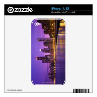 Chicago Skyline Decals For iPhone 4