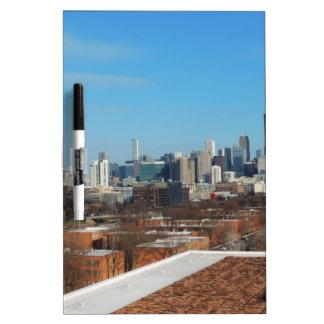 Chicago Skyline Dry Erase Whiteboard