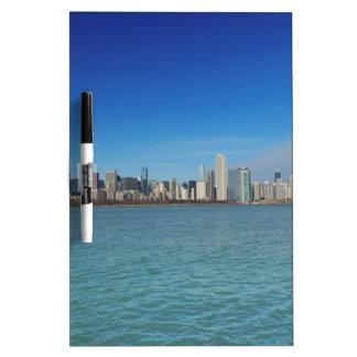 Chicago Skyline Dry-Erase Whiteboards