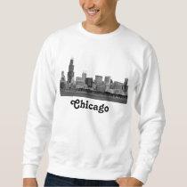 Chicago Skyline Etched Sweatshirt