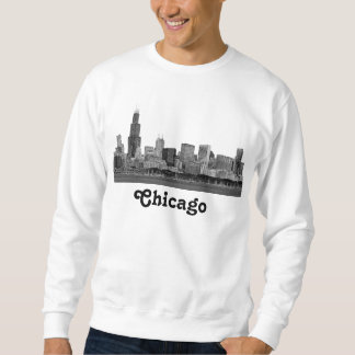 Chicago Skyline Etched Sweatshirt