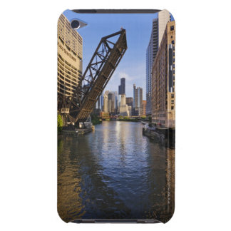 Chicago Skyline from the Kinzie St Bridge iPod Touch Case-Mate Case