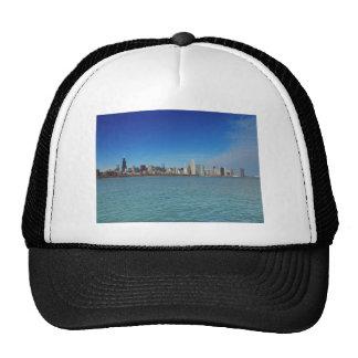 Chicago Skyline Mesh Hats