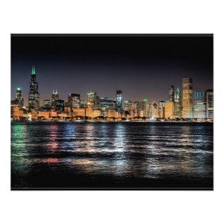 CHICAGO SKYLINE CUSTOM INVITE