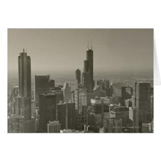 Chicago Skyline, John Hancock Center Skydeck 2 Card