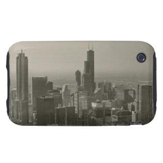Chicago Skyline, John Hancock Center Skydeck 2 Tough iPhone 3 Case