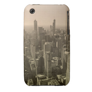 Chicago Skyline, John Hancock Center Skydeck iPhone 3 Case