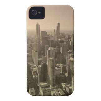 Chicago Skyline, John Hancock Center Skydeck iPhone 4 Case-Mate Case