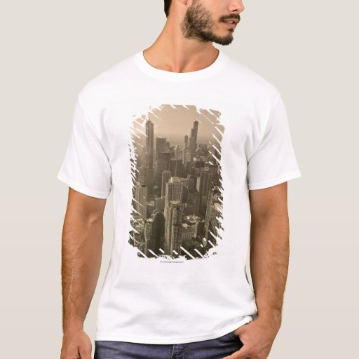 Chicago Skyline, John Hancock Center Skydeck T-Shirt