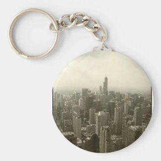 Chicago Skyline Key Chains