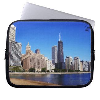 Chicago Skyline. Laptop Sleeve