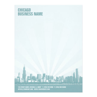 Chicago Skyline letterhead