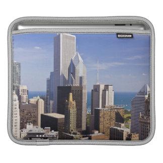 Chicago Skyline Looking towards Lake Michigan iPad Sleeve