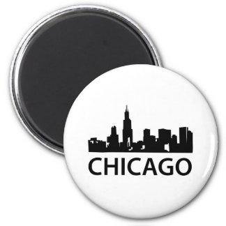 Chicago Skyline Fridge Magnets