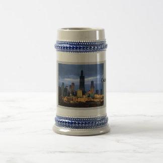 Chicago Skyline 18 Oz Beer Stein