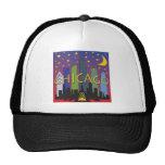 Chicago Skyline nightlife Hats